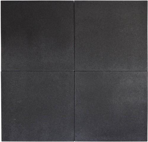 Geostretto Plus 60x60x6cm Milano zwart
