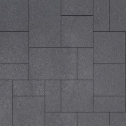 Geostretto Plus Wildverband 2 Milano zwart (0,72m²)
