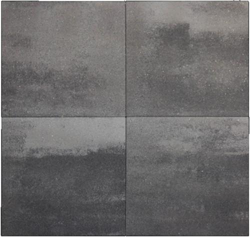 Geocolor 3.0 Tops 80x80x4cm Lakeland Grey grijs/zwart