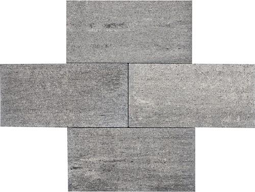 Strato 25x50x6cm Brugge grijs/zwart