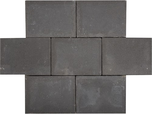 Sierbetonklinker Abdijformaat 20x30x6cm zwart
