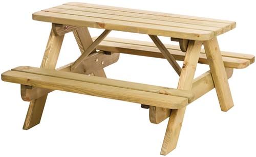 Hillhout junior picknicktafel Björn, bladmaat 90x38,5cm (W11018)