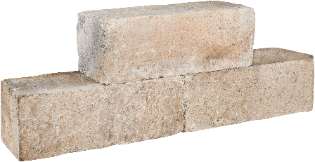Palinoblock getrommeld 45x15x15cm lime