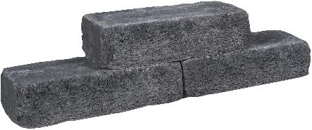 Cottage Walling 40x15x10cm zwart