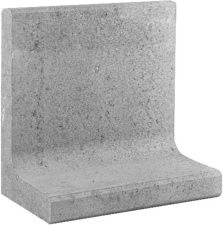L-Element 50x30x50cm grijs