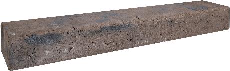 Retro betonbiels 100x20x12cm bruin