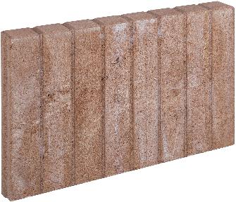 Mini Blokjesband 6x35x50cm bruin