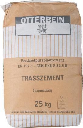 Trascement grijs 25kg zak