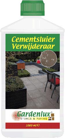 Gardenlux cementsluier Verwijderaar verwijdert cement- en kalksluier