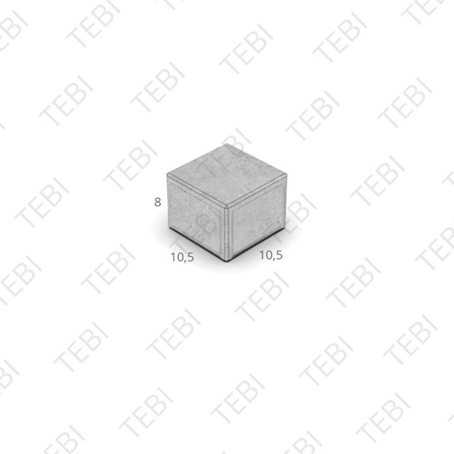 BKK KOMO 10,5x10,5x8cm donkergrijs