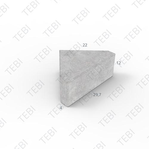 BSM KOMO 12cm grijs (22x11)