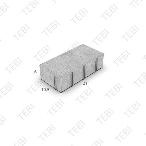 BKK KOMO 21x10,5x6cm grijs