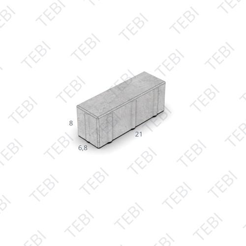 Dikformaat Breccia Tagenta B 40%C60% 21x6,8x8cm MP
