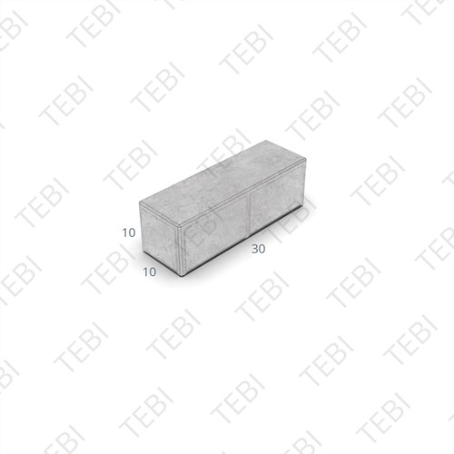 BKK 30x10x10cm Hydro Lineo zwart 0% open