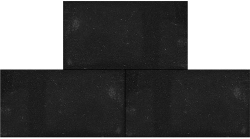 Betontegel 15x30x4,5cm zwart
