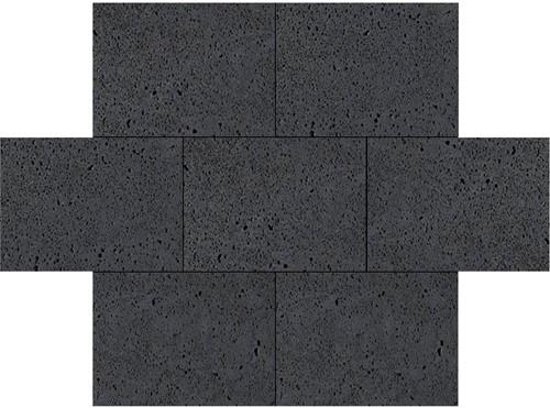 Oud Hollandse tegel 40x60x5cm carbon