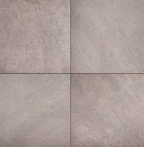 B-KEUS Ceramica Lastra 60x60x2cm Block Beige