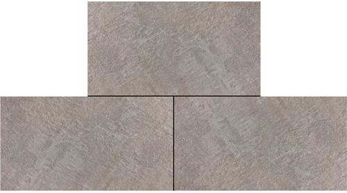 Ceramica Lastra 45x90x2cm Trust Silver  grijs