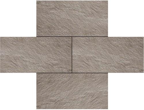 Ceramica Lastra 60x120x2cm Trust Silver  grijs