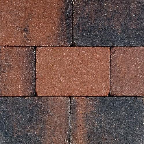 Pebblestones 15x20x6cm Porthleven rood/zwart