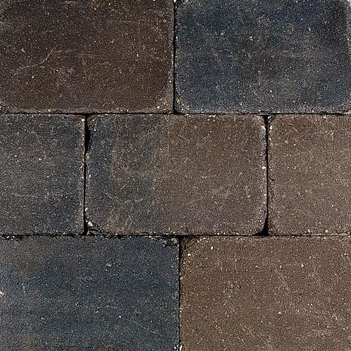 Pebblestones 15x20x6cm Marazion bruin/zwart