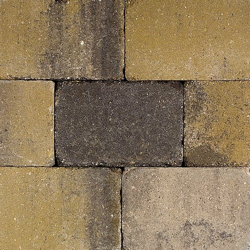 Pebblestones 20x30x6cm Helston geel/paars