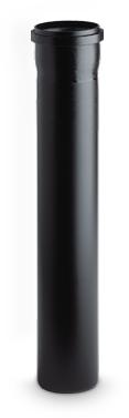 Afvoerbuis zwart DN40/480 mm
