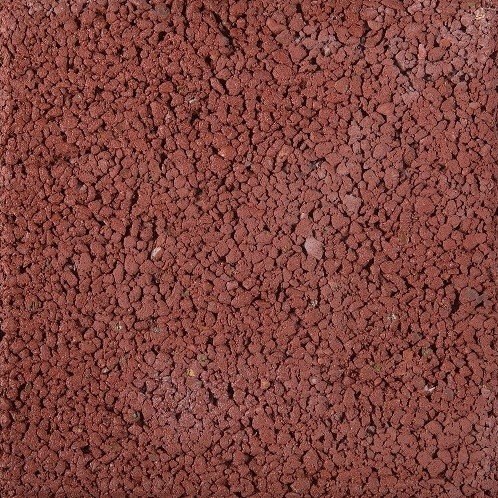 Pasblok 20x20x4,5cm  rood structuur