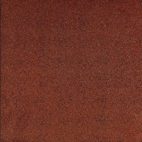 Rubbertegel 50x50x2,5cm rood
