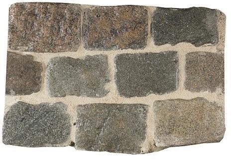 Kinderkoppen gebruikt Graniet Keien ± 14x22x15
