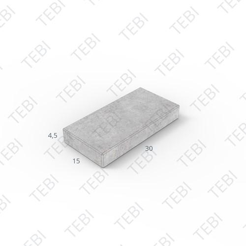 Tegel KOMO 15x30x4,5cm grijs