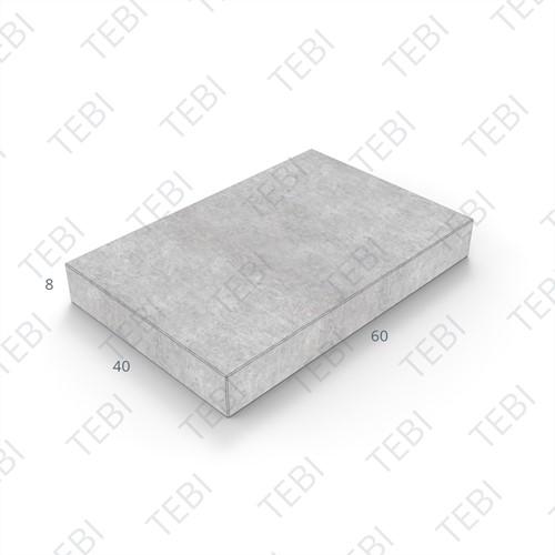 Tegel KOMO 40x60x8cm grijs