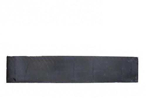 Betonplaat glad 3,5x25x224cm antraciet ongecoat (W13218)