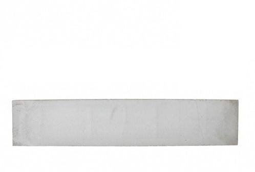 Betonplaat glad 3,5x24x184cm grijs, ongecoat (W13415)