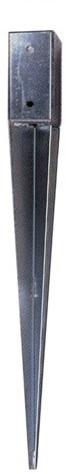 Palensteun verzinkt 9x9x75cm (1001209)