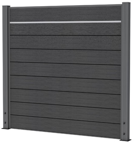 Aluminium decoratiestrip 2,3x2,0x180cm (W23600)