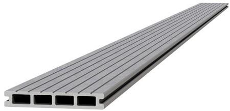 Composiet dekdeel 2,3x14,5x300cm lichtgrijs (W23460)