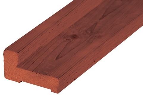 Hardhouten fundamentbalk 4,5x9,0x300cm (1000208)