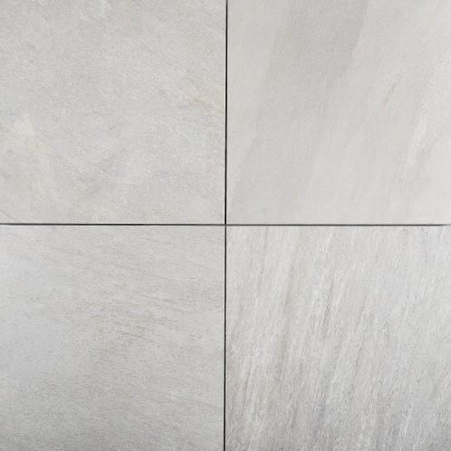 Cera4line Mento 60x60x4cm Cuarcita Gris lichtgrijs