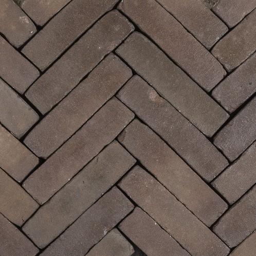 Antic Bricks waalformaat 5x20x6,5cm Polderbruin donkerbruin