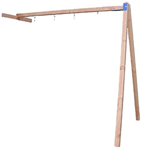 Douglas schommelaanbouw t.b.v. speeltoestel Bonobo, kleurloos geïmpr. (W12699)