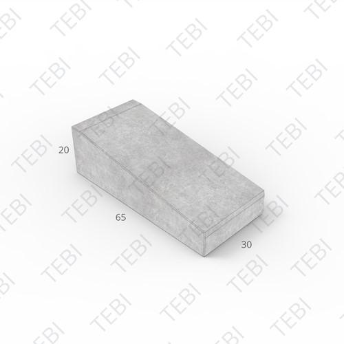 Inritband 65x30x20cm grijs tussen