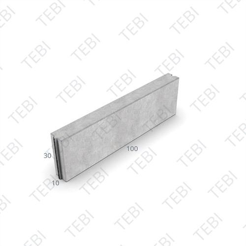 Opsluitband 10x30x100cm grijs