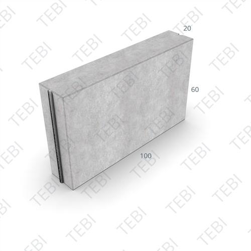 Opsluitband 20x60x100cm grijs