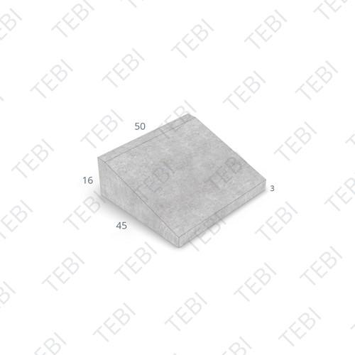 Inritband 45x50x16cm uitgew zwart/groen tussen