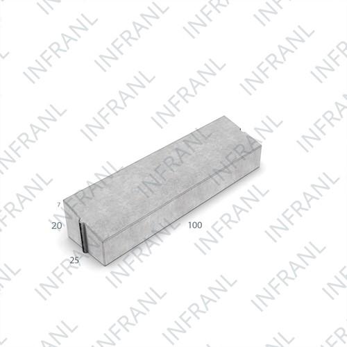 PWS Band 25x13/20x100cm grijs