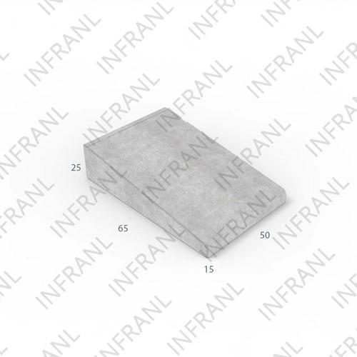 Inritband 65x50x25cm zwart tussen
