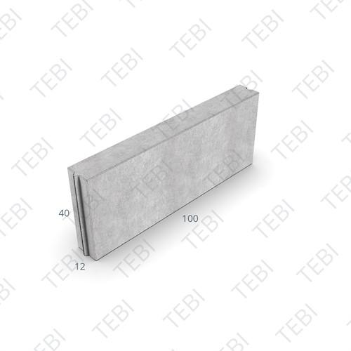 Opsluitband 12x40x100cm grijs