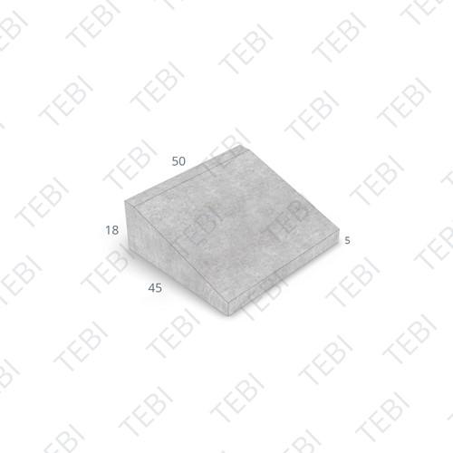 Inritband 45x50x18cm grijs tussen