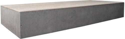 Traptrede massief 100x40x18cm grijs